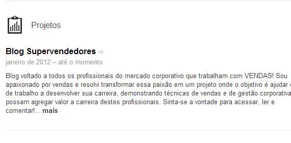 Colocando suas Atividades no seu perfil do LinkedIn