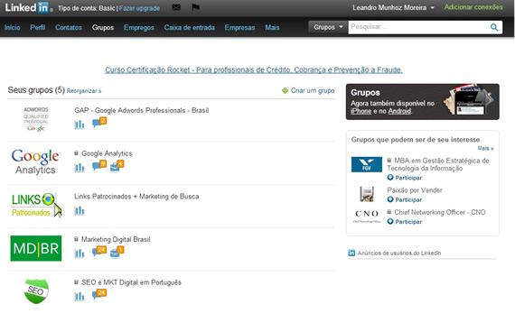 O LinkedIn como Ferramenta de Conhecimento