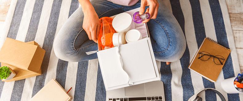 venda de cosméticos pela internet